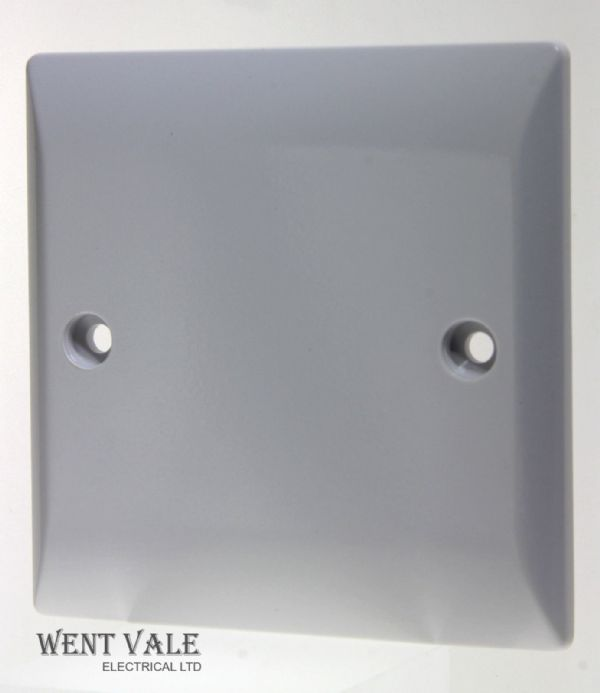 Super Switch - Silk Range - SW28 - 1 Gang Moulded Blank Plate New